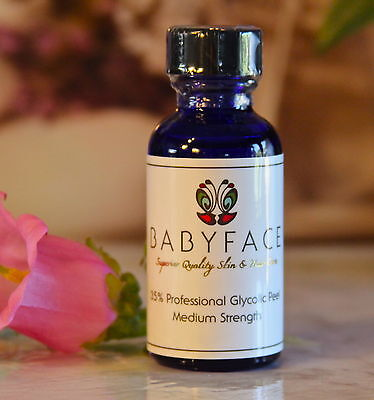 Babyface 35% Glycolic Acid Anti-aging Chemical Peel Glowing Firm Skin Wrinkles