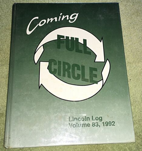 1992 Vincennes Lincoln High School Yearbook Lincoln log Vol. 83