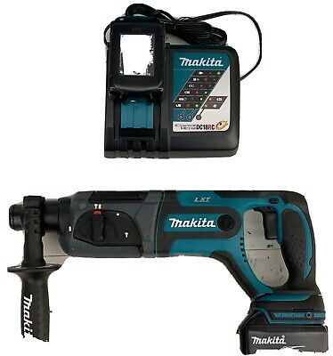 Makita Xrh04t 18v Cordless 78 In. Sds-plus Rotary Hammer Kit