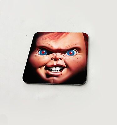 Bride Of Chucky Gruselig Gesicht Schrullig Tasse Untersetzer Esstisch Kork Board