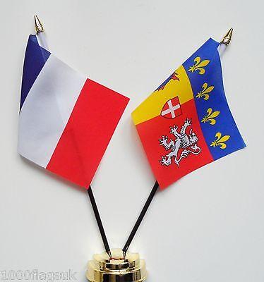 France & Gremelos Escudo de Armas Juego de Banderitas de Amistad