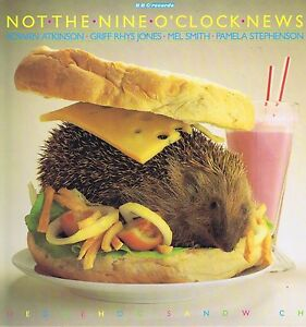 Not-The-Nine-O-Clock-News-Hedgehog-Sandwich-REB-421-LP-Vinyl-Record