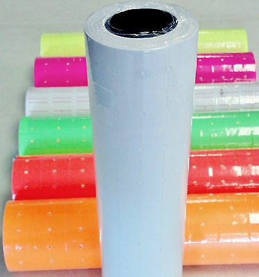 5000 Tags Labels Refill For Motex Mx-5500 Or One Line Price Gun Blank White