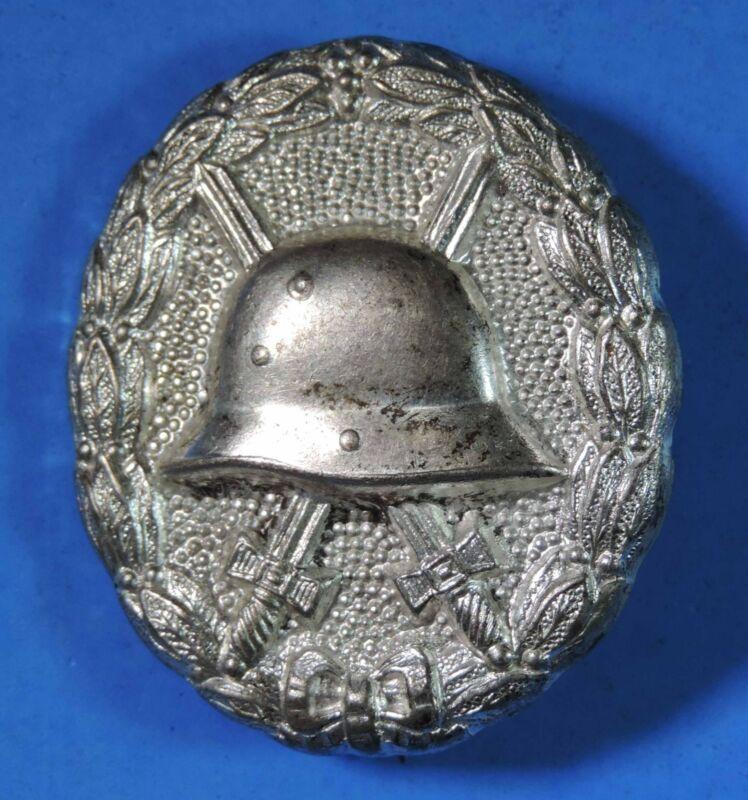 Original WWI Imperial Germany German Silver Wound Badge