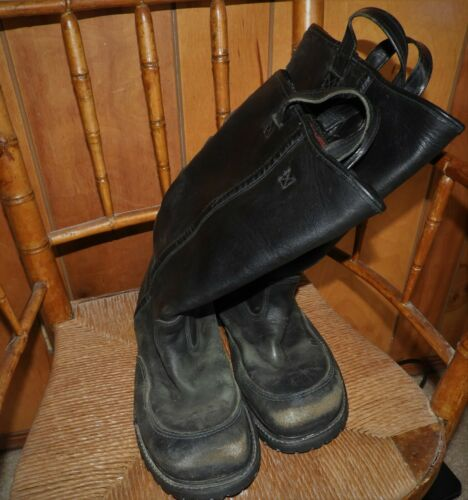 STEEL TOE Crosstech Firefighter Boots - Model 3009 Size 10.5 used great cond