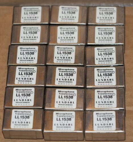 Lundahl LL1538 microphone transformer one piece !