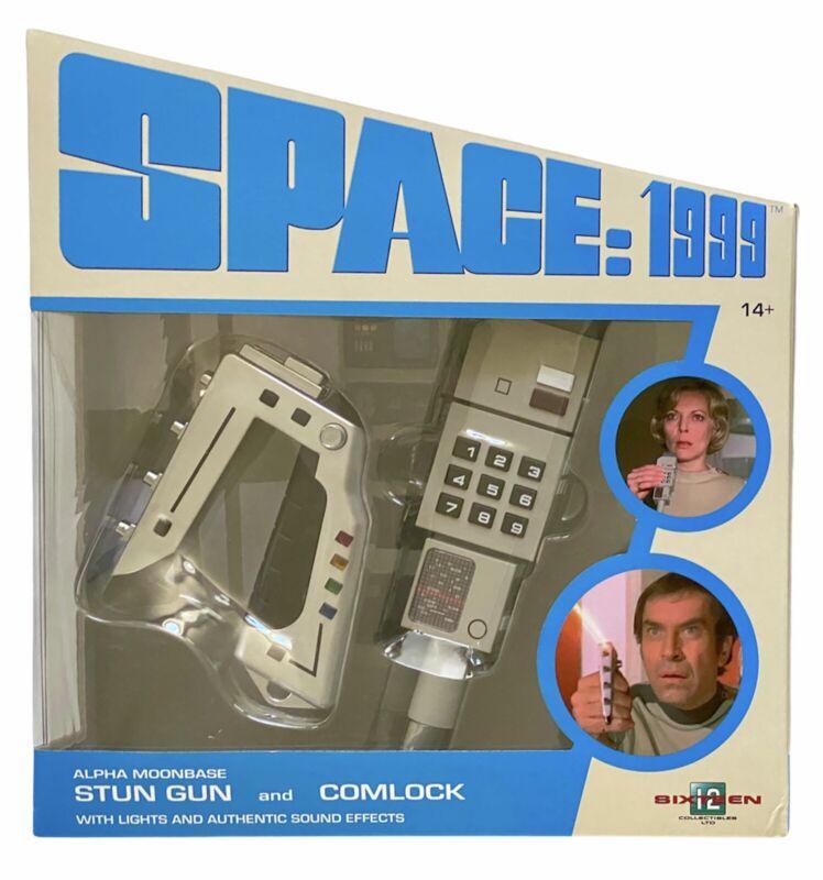Space 1999 Laser and Comlock prop set - Sixteen12