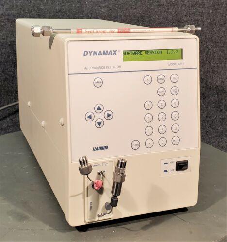 RAININ DYNAMAX UV-1 ABSORBANCE DETECTOR w/ SYNCHROME SYNCHROPAK AX300 COLUMN