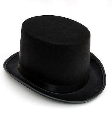 Hut Zylinder VIKTORIANISCH England Jack the Ripper Herren Gentleman schwarz NEU