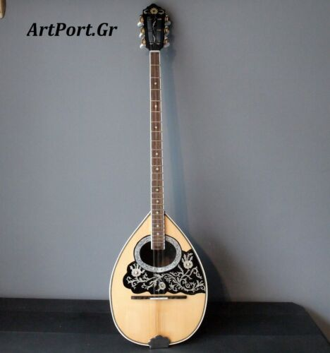 Rebetiko Bouzouki + Hard music case.