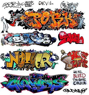 O Scale Custom Graffiti Decals #28 - Weather Your Box Cars, Gondolas & Hoppers!