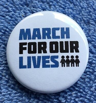 March For Our Lives Pinback Button