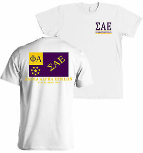 Sigma alpha epsilon fraternity flag american apparel t for American apparel sorority shirts