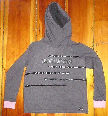 Under Armour purple fleece Loose fit Hoodie Sweatshirt   Women's medium / MD