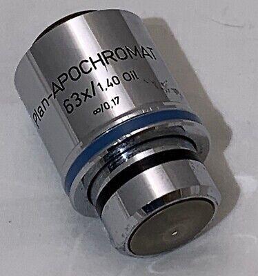 Zeiss Plan Apochromat Plan Apo 63x1.40 Oil Microscope Objective 44 07 60