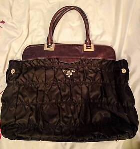 Dark Brown Prada Handbag Wollstonecraft North Sydney Area Preview