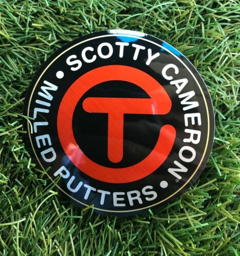 SCOTTY CAMERON Large RED CIRCLE T CT Milled Putters STICKER NEW GOLF