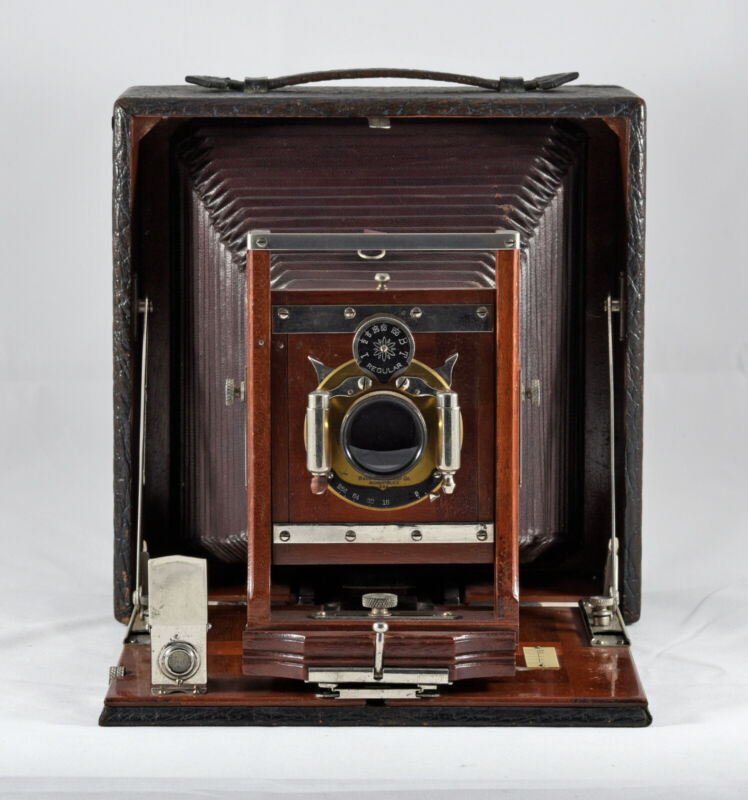 CONLEY 5X7 FOLDING BED PLATE CAMERA IN EXCELLENT CONDITION