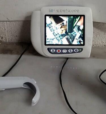 Glidescope Cobalt Avl Video Laryngoscopes Monitor W 0570-0307 Camera Blade 3-4