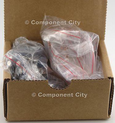 350 Pcs 35 Values Ceramic Electrolytic Radial Capacitor Assortment 6pf - 470uf