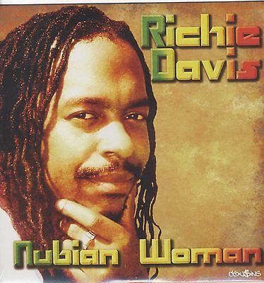 Richie Davis - Nubian Woman  VINYL LP NEW DANCEHALL SPECIAL PRICE £2.99
