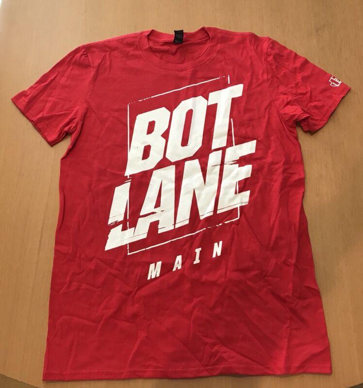 PAX East 2018 Exclusive League of Legends BOT LANE Main Red T Shirt Adult XL