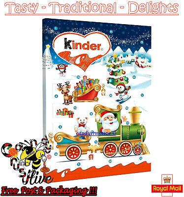 Kinder Chocolate Mini Advent Calendar Xmas Christmas Fun for Kids Children 135g