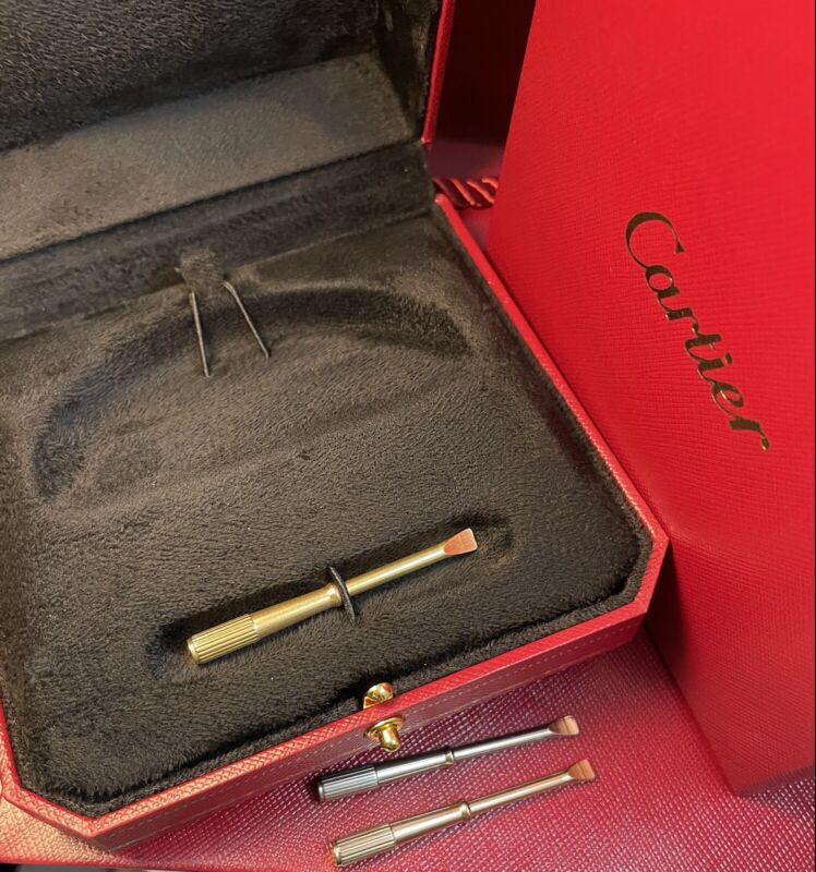 Genuine Cartier Love Bracelet Box, Screwdriver, Gift Bag, Outer Box, inner box