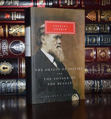 Origin of Species by Charles Darwin New Hardcover Deluxe Collectible Classics