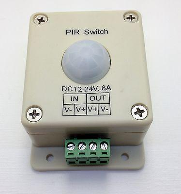 Led Lighting Motion Activated Sensor Switch 12 Volt Dc Passive Ir Light Control