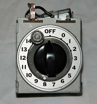 Keating 4571 15 Minute 120 Volt Deltrol Timer With Knob Dial Plate Adjustable
