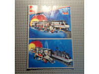 Lok aus 4558 mit Motor LEGO®  9 V Eisenbahn