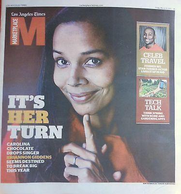 La Times Marketplace Magazine March 2015 Rhiannon Giddens Tech Talk
