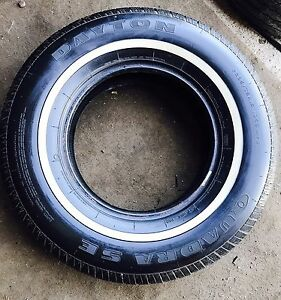 White Wall tyre used (1) Victoria Point Redland Area Preview