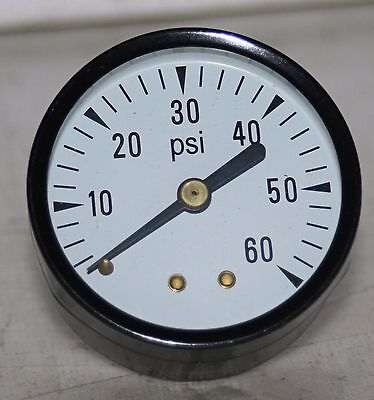 60 Psi  2 Dial 14npt  Pressure Gauge  New