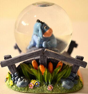 Disney Winnie the Pooh Eeyore on Bridge Mini Snow Globe, No Box