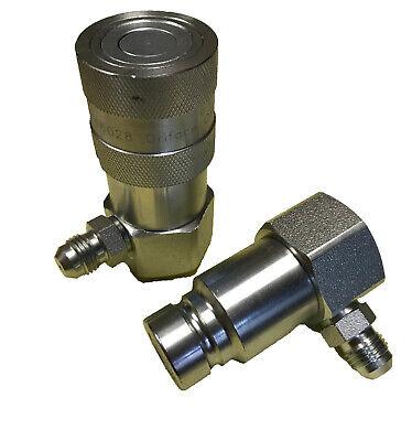 Hydraulic Quick Couplings -flush Faceflat Face Set 12 Grapple Type