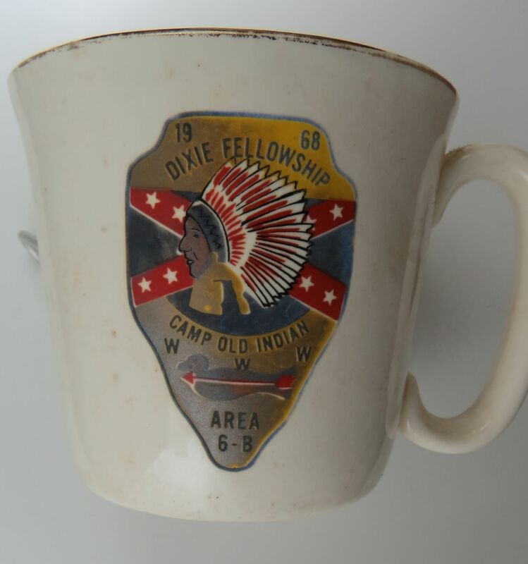 1968 Dixie Fellowship Camp Old Indian Area 6B WWW Mug [MUG-1061]