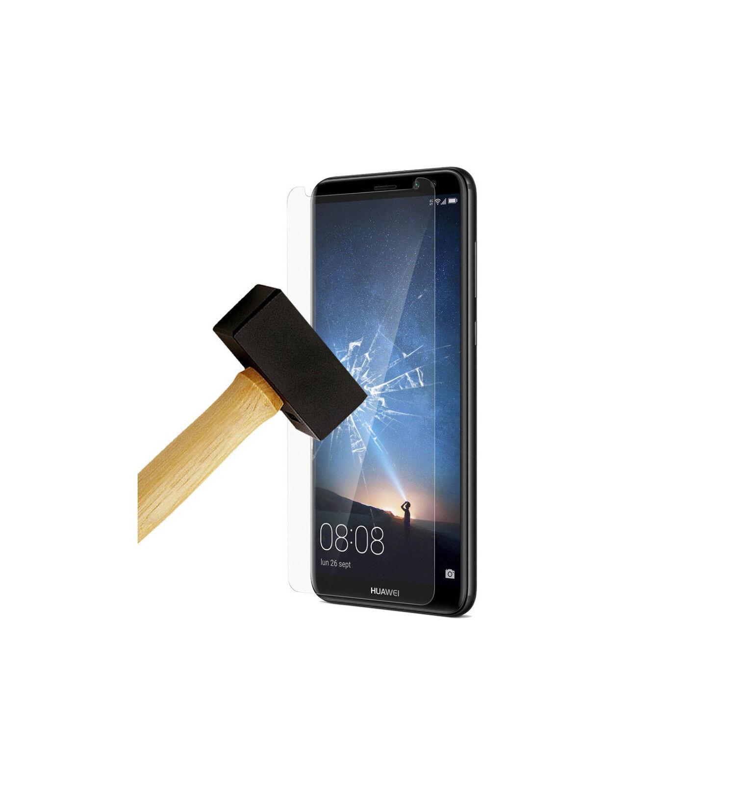 [Lot de 2] Verre trempé Ultra Transparent Résistant pour Huawei Mate 10