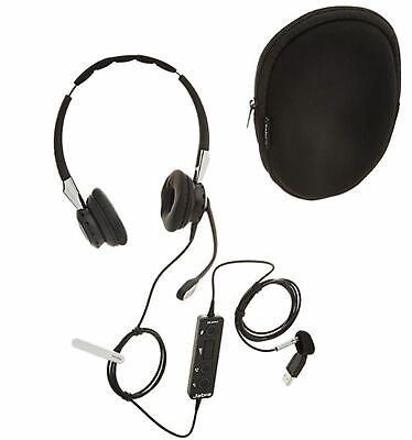 Jabra Biz 2400 II Duo USB CC Headset  Neu & Ovp Jabra Biz 2400 Usb