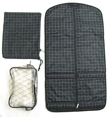Kenneth Cole Reaction Garment Bag Travel SET Shoe Storage + DrawString Dust Sack