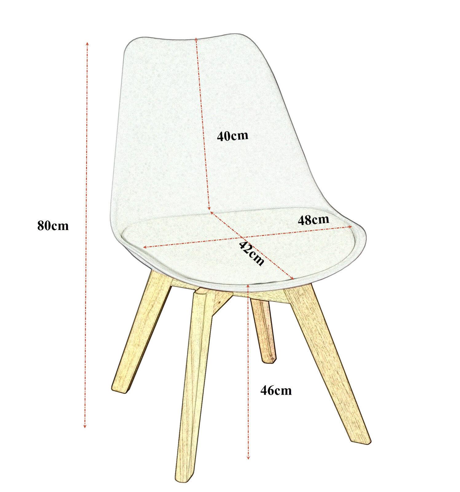 2er set stuhl esszimmerstuhl k chenstuhl holz plastik. Black Bedroom Furniture Sets. Home Design Ideas