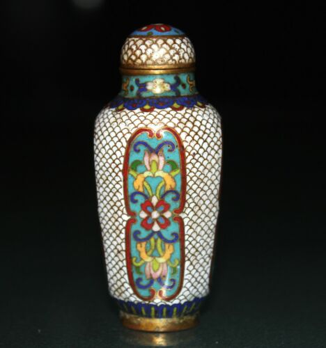 A 19th/20th Century vintage beautiful Chinese cloisonne snuff bottle  280