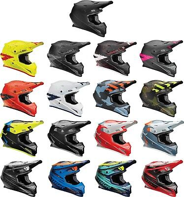 Thor Sector Helmet - MX Motocross Off-Road Dirt Bike ATV MTB Men Women (Atv Off Road Helmet)