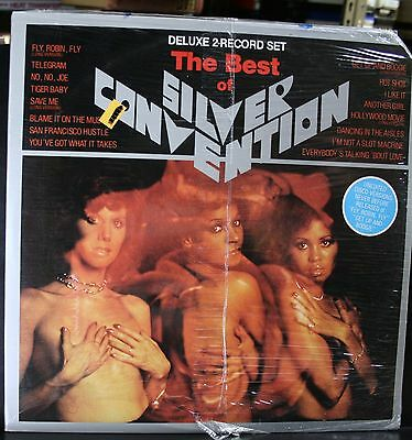 SEALED VINYL RECORD ALBUM SOUL FUNK LP THE BEST OF SILVER CONVENTION DOUBLE