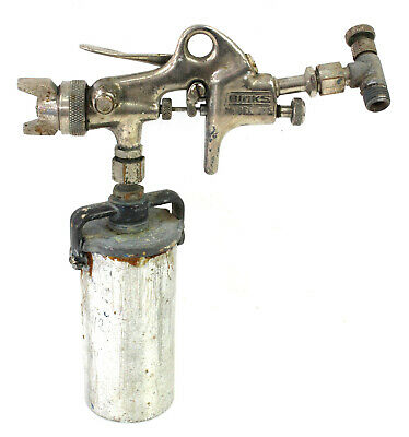 Binks Model 115 Professional Panel Touch-up Paint Spray Gun  Cup