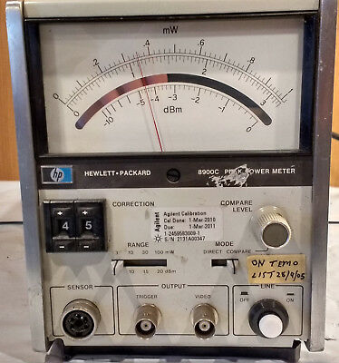 Hp 8900c Peak Power Meter