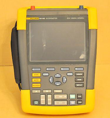 Fluke 190-062 Scopemeter 2 Channel 60mhz Handheld Oscilloscope 190 062