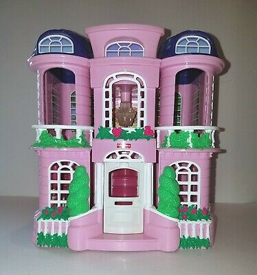 Fisher Price Sweet Streets Townhouse Mansion #74916 2001 Excellent Clean