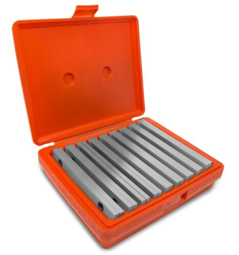 WEN 10349 18-Piece Precision-Ground 1/4-Inch Parallel Sets with Case